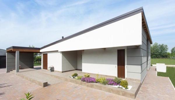 Foto casa in legno moderna di casaattiva 626846 - Casa legno moderna ...