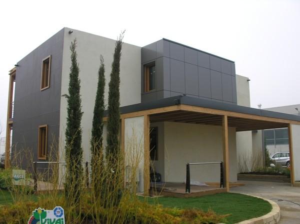 Foto casa in legno presentata alla fiera di verona di - Fiera casa verona ...