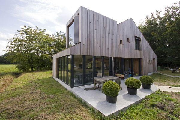 casa legno moderna