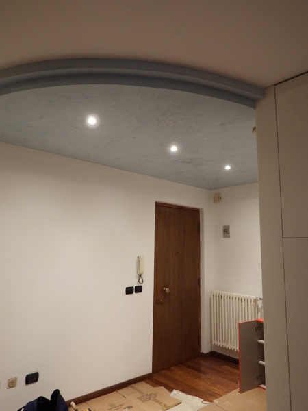 Foto controsoffitto per illuminazione ingresso di ready casa italy s r l 394840 habitissimo - Illuminazione ingresso casa ...