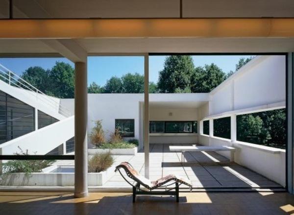 Interni Di Villa Savoye : I punti dell architettura moderna di le corbusier domuseco