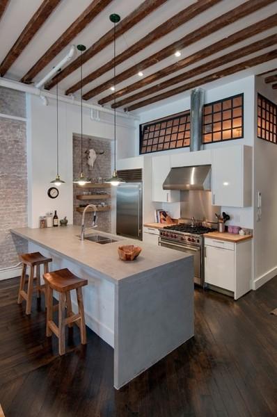 Foto: Cucina a Isola Spaziosa di Valeria Del Treste #311891 ...