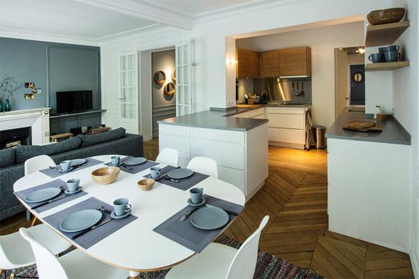 Foto: Cucina a Vista sul Soggiorno di Rossella Cristofaro #623188 ...