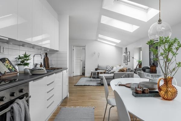 Foto: Zona Giorno con Cucina di Rossella Cristofaro #660401 ...