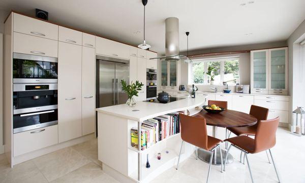 Foto: Cucina Bianca con Isola di Marilisa Dones #355902 - Habitissimo