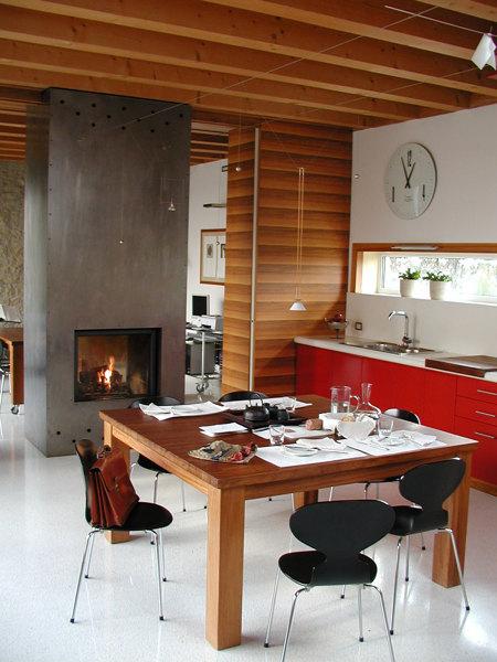 Foto: Cucina con Camino di Studio Typo #699513 - Habitissimo