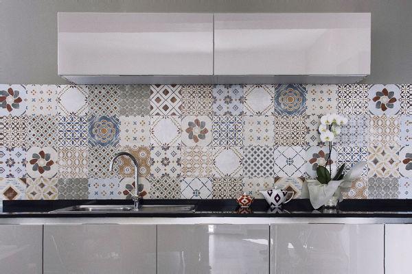 Foto cucina con cementine di rossella cristofaro