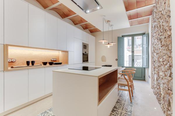 Foto: Cucina con Parete In Pietra di Rossella Cristofaro #642975 ...