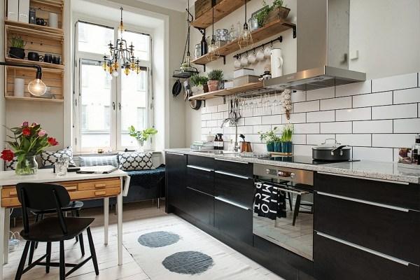 Foto cucina con ripiani in stile rustico di rossella cristofaro 493181 habitissimo - Cucina stile rustico ...
