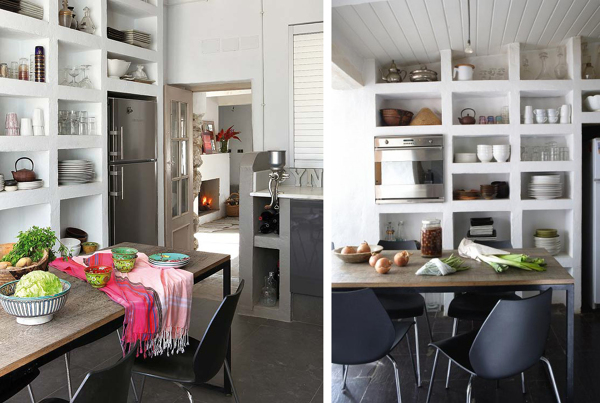 Foto cucina con scaffali a vista di rossella cristofaro 365671 habitissimo - Scaffale cucina ...