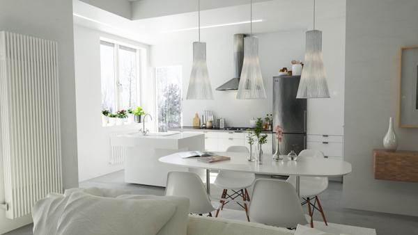 Foto: Cucina e Soggiorno Open Space di Marilisa Dones #358968 ...