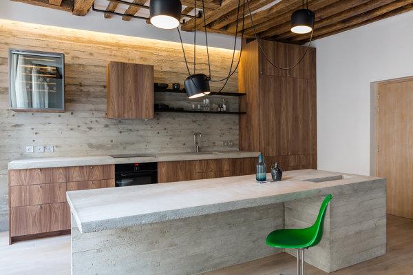 Foto: Cucina In Cemento e Legno Moderna di Rossella Cristofaro ...