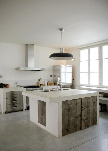 Foto: Cucina In Muratura con Grande Isola di Rossella Cristofaro ...