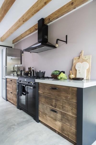 Foto cucina in stile rustico vintage contemporaneo di - Cucina stile vintage ...