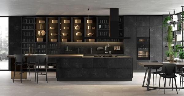 Foto: Cucina Lube con Ante In Gres Porcellanato Mutina di Rossella ...