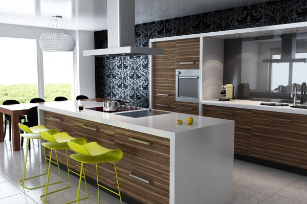 Foto: Cucina Moderna con Isola di Marilisa Dones #355850 - Habitissimo