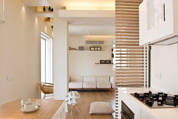 Spazi Flessibili Per Un Attico Di 70 Mq Idee Ristrutturazione Casa