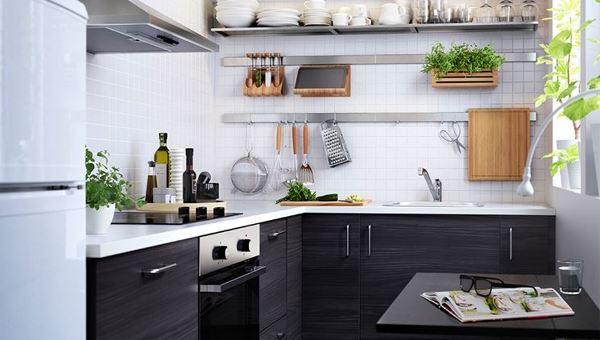 Foto: Cucina Piccola Modello Ikea #558449 - Habitissimo