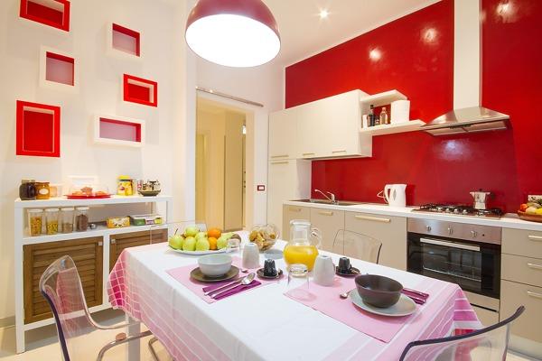 Foto: Cucina Rossa e Bianca di Depre Studio #483264 - Habitissimo