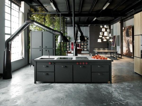 Foto cucina stile industriale di valeria del treste