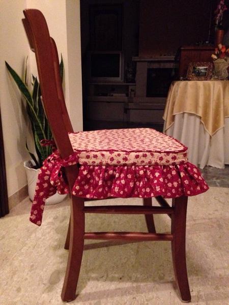 Foto cuscini per sedia di la bottega del salotto e del for Cuscini x sedia