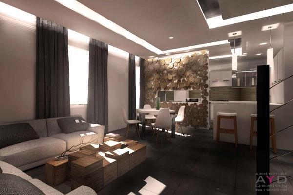 Foto decorazione interni casa studio ayd torino di for Progetti case interni