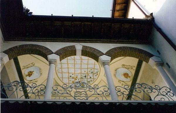 Soffitti A Volta Decorazioni : Decorazione soffitto stile liberty u viera danielli