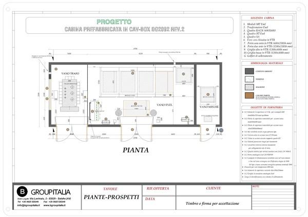 b group italia srl - cabine elettriche prefabbricate | idee