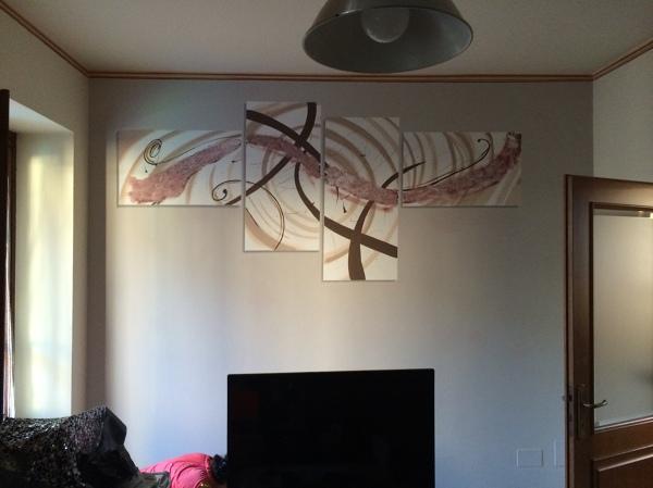 Foto dipinto moderno su parete di md decorazioni 306713 for Parete decorata moderna