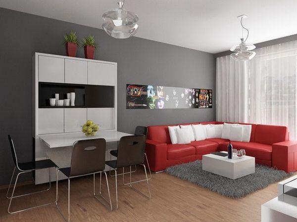 Divano Rosso E Grigio : Foto divano rosso ad angolo di marilisa dones habitissimo