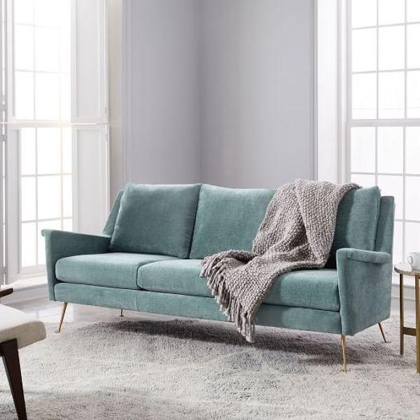 foto divano velluto anni 60 di rossella cristofaro