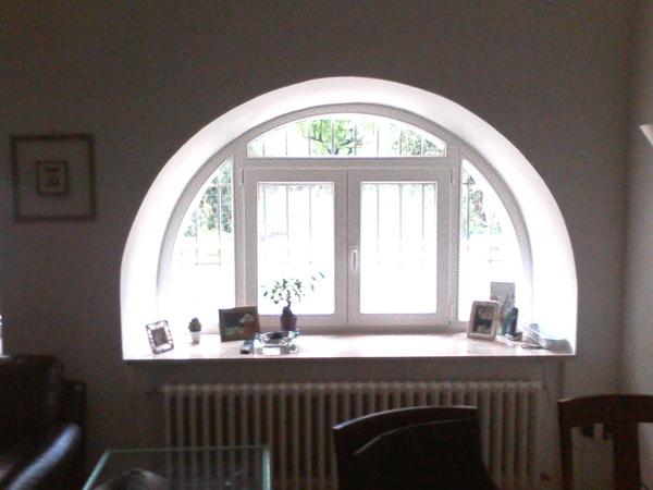 Foto Finestra Ad Arco In Pvc Di La Serie Infissi 293424 Habitissimo