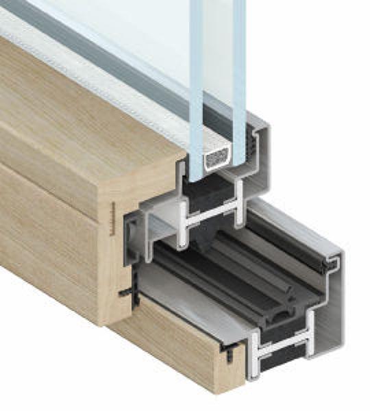 Foto finestra in acciaio inox e legno a taglio termico di for Arredo inox crotone