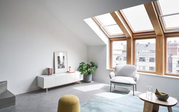 Finestre per tetti in legno