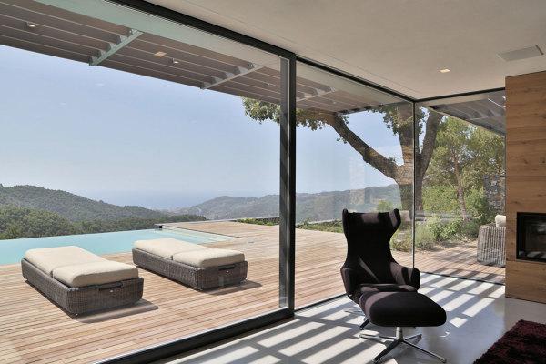 Foto finestre scorrevoli a tutta altezza di rossella cristofaro 430462 habitissimo - Altezza parapetto finestra ...