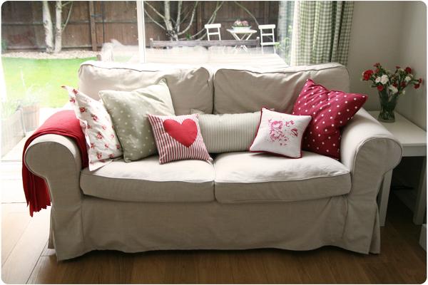 Foto fodera divano beige de marilisa dones 354095 for Fodera divano ektorp