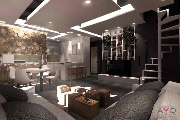 Foto idee controsoffitti studioayd torino di architetto - Casa interni moderni ...