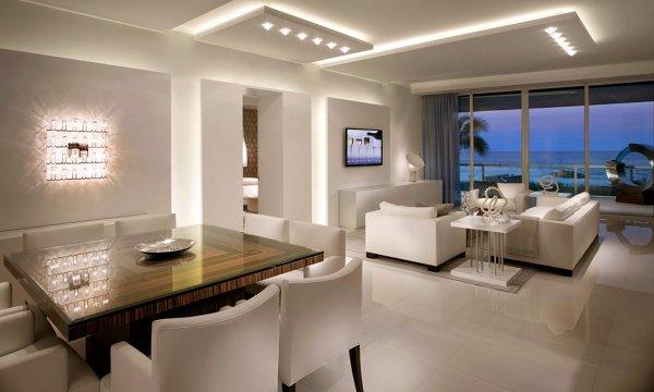 Foto illuminazione soggiorno con led di marilisa dones