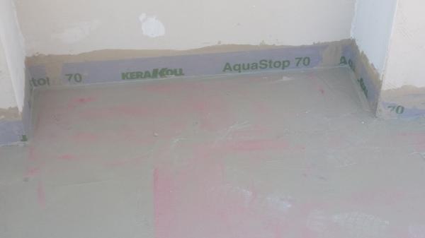 Foto: Impermeabilizzazione della Terrazza con Aquastop Kerakoll di ...
