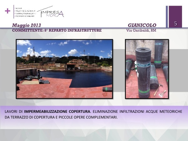 Foto: Impermeabilizzazione Terrazzo di Copertura di N.O.R.A. ...