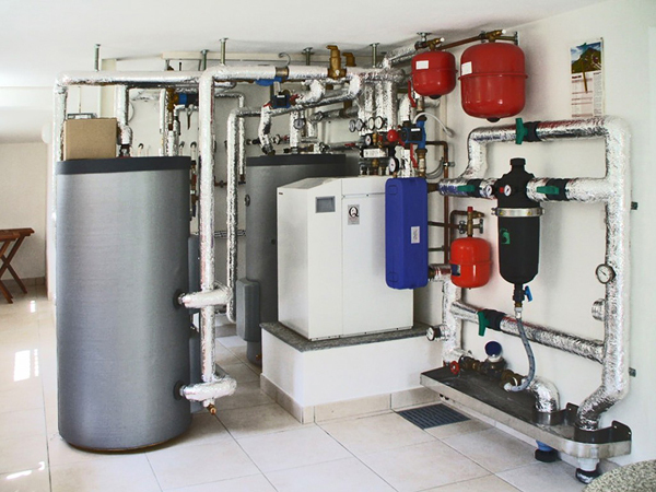 Foto impianto a pompa di calore residenziale di renova