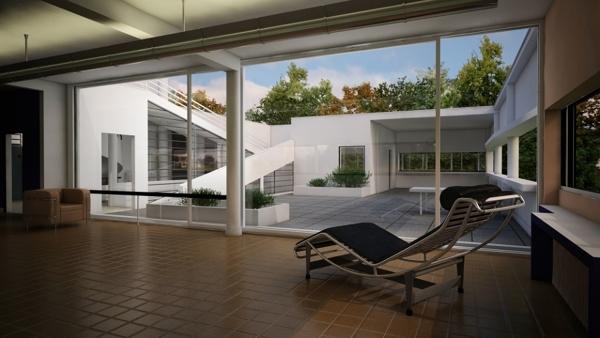Foto interni villa savoye di francesco esposito 368167 for Interni di ville