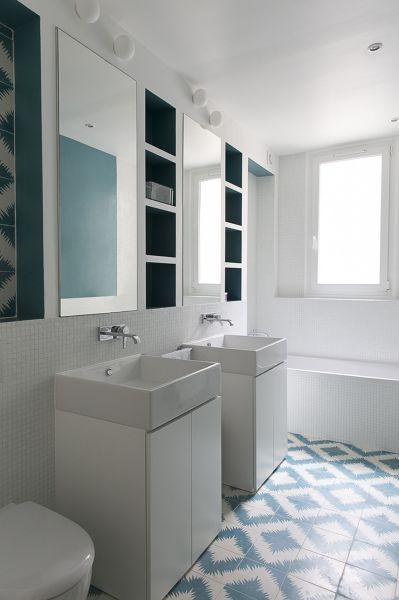 Foto librerie in cartongesso per il bagno di rossella cristofaro 493912 habitissimo - Cartongesso per bagno ...