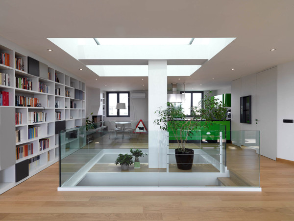 Foto living di vincenzo ferrara 156631 habitissimo for Foto appartamenti ristrutturati moderni