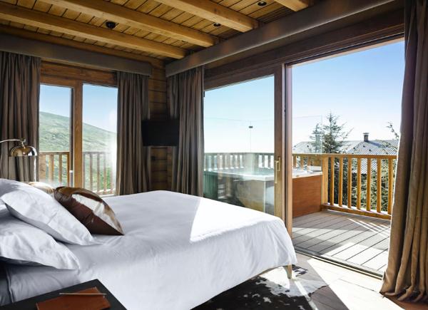 Foto lodge ski spa camera da letto di francesco esposito 358068 habitissimo - Camera da letto montagna ...