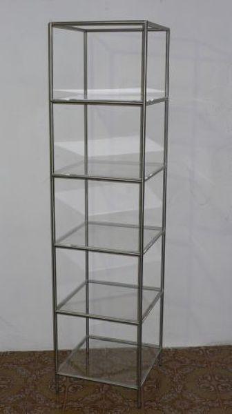 Foto mensole vetro struttura acciaio inox di rimoldi for Arredo inox crotone