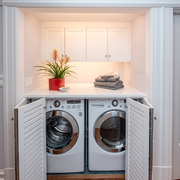 Foto mobile per lavatrice e asciugatrice di claudia loiacono 538872 habitissimo - Mobile per lavatrice ikea ...
