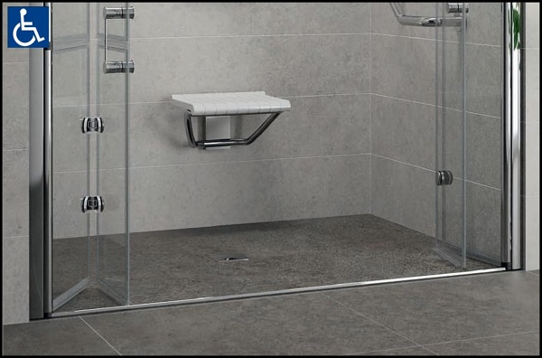 Foto modello doccia filo pavimento di imperiale 305993 habitissimo - Piatto doccia piastrelle ...