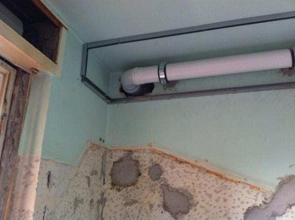Foto modifica tubo areazione cappa cucina di termotek for Areazione cucina