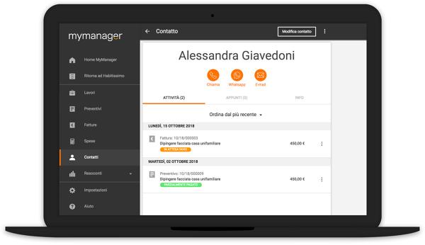 MyManager: gestisci la tua attività in modo rapido e semplice